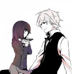 Akane and Shizuo <3