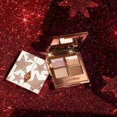 Best New Arrivals From Sephora | October 2021 | POPSUGAR Beauty Iridescent Eyeshadow, Charlotte Tilbury, Makeup News, Magic Eyes, Color Effect, Colour, Pink And Gold, Blush Pink, Star Print