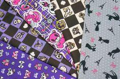 lolita fabric scrap SL37 by beautifulwork on Etsy, $5.50