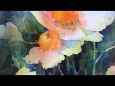 Negative Painting with Watercolor - YouTube