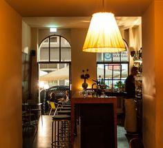 Tabacchi Bar Cafe (c) STADTBEKANNT - Das Wiener Online Magazin Bar, Lighting, Home Decor, Homemade Home Decor, Lights, Lightning, Decoration Home, Interior Decorating