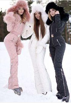Onesies Silver & Gold Waisted Goose Down Ski Suit Nordic brand design onesies zipper ski Winter Outfits Ski Fashion, Look Fashion, Winter Fashion, Fashion Outfits, Fashion Trends, Winter Suit, Winter Wear, Mens Winter, Winter Coats