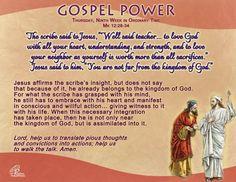 Gospel Power OT 9C – Thursday
