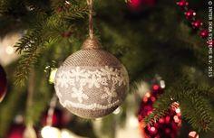 Des boules de Noël aux couleurs naturelles. Décoration boule VINTER #IKEABE