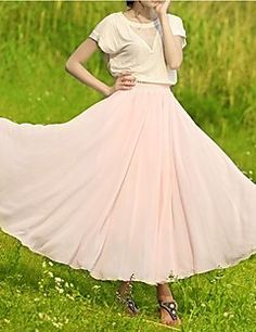 Women's Fashion Bohemian Chiffon Skirt Get superb discounts up to 80% Off at Light in the Box using coupon.