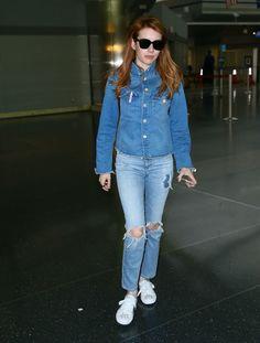 Emma Roberts Denim Jacket