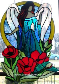 Cztery pory roku - Lato Anioł z kwiatami The Four Seasons - Summer Angel with Flowers