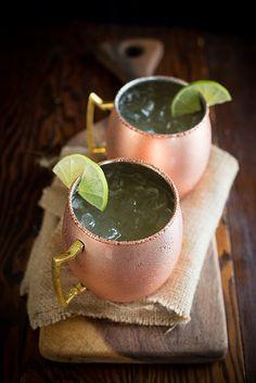 Fairly Modest Mule Cocktail made with FAIR. Quinoa Vodka – {Gluten-free and Fair-trade}