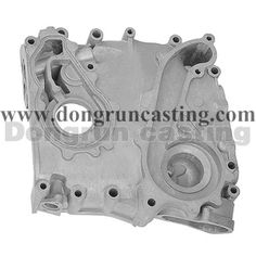 Aluminiun alloy casting is made by sand cast process, suitable for engine system, no leak, and pressure test. http://www.dongruncasting.com/Capabilities/Aluminum_Sand_Casting.htm