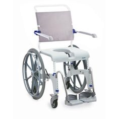 """Invacare Aquatec Ocean 24"""" (Douche Toilet Rolstoel Shower and commode wheelchair)"""