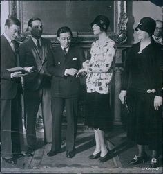 1929 Fanny Brice married Billy Rose, officiated by the Jazz Mayor himself, Jimmy Walker of NYC