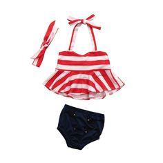 f9ad10398 July Baby. Baby Girl SwimwearBaby SwimsuitBikini GirlsBikini SetToddler  SwimsuitsNewborn ...