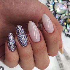 Square Nail Designs, Cool Nail Designs, Matte Nail Art, Acrylic Nails, Ivory Nails, Summer Gel Nails, Short Square Nails, Uñas Fashion, Almond Shape Nails