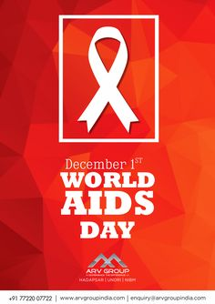 Today is Worlds AIDS Day.. Stay Aware, Stay Safe!