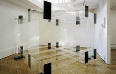 Check out these lovely acrylic glass objects and installations of Berlin artist Michael Laube