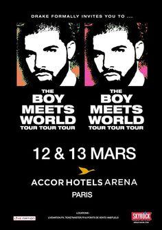 Drake en concert à Paris en 2017