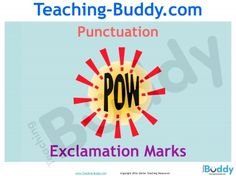 Exclamation Marks free teaching resources - PowerPoint for Grade 1