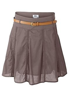 Brown skirt, wide, no frills Flirt, Brown Skirts, Rock, Work Attire, No Frills, Modeling, Casual Shorts, Short Dresses, My Style