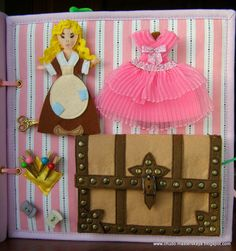 Cinderella quiet book