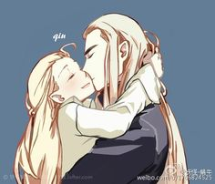 Tales of Mirkwood - Kiss in #sorry i'm not sorry about my elf problem. Legolas and thranduil