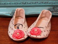 Baby Girl Booties Handmade Summer NonSlip Sandals by ToastyToesies, $25.00