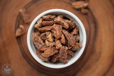 Homemade Candied Pecans   Self Proclaimed Foodie