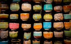 Sake cups by Chris Bonner | Flickr - Photo Sharing!