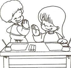 AMO A EDUCAÇÃO INFANTIL: BONS MODOS E REGRAS DE CONVIVÊNCIA Arabic Alphabet Letters, Classroom Management, Teaching Kids, Disney Characters, Fictional Characters, Cartoon, Education, Comics, Lettering