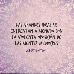 Grandes ideas Vs mentes mediocres
