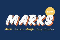 Marks Black Package by Piñata on @creativemarket