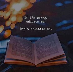 If Im wrong educate me..