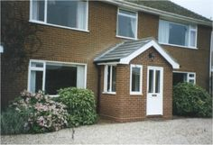 Porch Extension, Extension Ideas, Shed, Outdoor Structures, House Design, Front Porches, Porch Ideas, Front Doors, Extensions