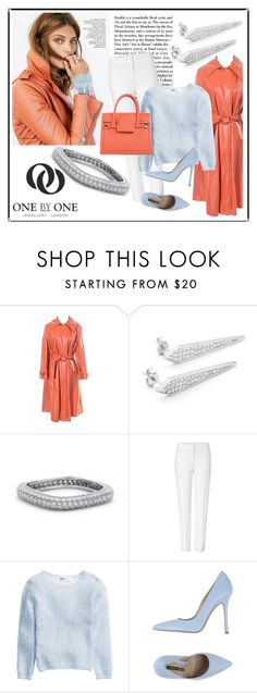"""""""SHOP - One by One Jewellery"""" by ladymargaret ❤ liked on Polyvore featuring ESCADA, Norma J.Baker and Viktor & Rolf"""