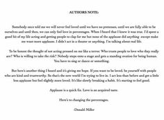 The Author's Note to Donald Miller's Next Book Is Beautiful