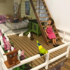 The Lundby Stockholm beach house is on airbnb, so Greta and Erik have managed to rent it for a few days to have a break away from their kids. Sounds good to us! (image: littlefishcreationsus)
