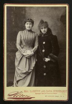 Lillie Langtry & Sarah Bernhardt