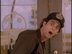 Trending GIF reaction gif mrw reactions jim carrey giff classic reaction best gif whatsapp status free gif go figure Jim Carrey, Gif Animé, Animated Gif, Funny Animal Pictures, Best Funny Pictures, Stupid Guys, Stupid Things, Helicopter Parent, Funny Vines