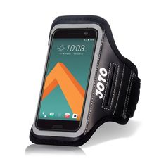 HTC 10 Sport Exercise Armband, JOTO Sport Protective Armband Case, with Key Holder, Credit Card / Money Holder, Sweat Proof, Best for Gym, Running , Exercise , Workout(Black). Compatible with HTC 10 2016. Features: Built in key holder, ID/Credit Card/Cash Holder and earphone jack openings. Quality Materials: Made from premium lightweight neoprene; sweat proof, durable and protects your device all around. Full Touchscreen Compatibility: Clear protective screen window offers full function…