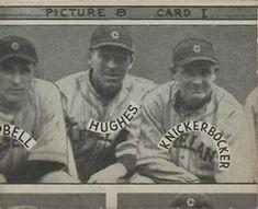 1935 Goudey 4-in-1 (R321) #33 Mel Harder /  Bill Knickerbocker /  Lefty Stewart /  Joe Vosmik Back