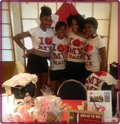 iHeartMyHair foundation at Toronto Natural Hair show