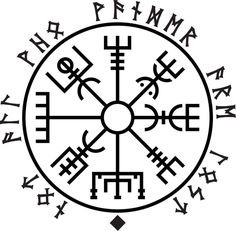 Vegvisir - Not All Who Wander Are Lost