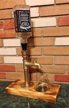 "Woodworking Projects Alcohol Plumbing Fixture Dispenser DIY Project Homesteading - The Homestead Survival .Com ""Please Share This Pin"""