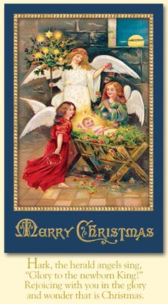Merck Familys Old World Christmas Greeting Cards Christmas
