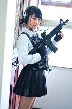 Cosplay Outfits, Cosplay Girls, Cosplay Costumes, Anime Military, Military Girl, Japonese Girl, Gunslinger Girl, Cyberpunk Clothes, Cute Japanese Girl