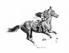 Phar Lap « Dostihová legenda Black Pen Sketches, Horse Oil Painting, Scratchboard Art, Horse Sketch, Horse Coloring Pages, Horse Artwork, Horse Silhouette, Charcoal Art, Vintage Horse