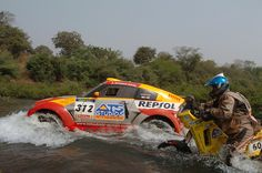 2005 Barcelona- Dakar Rally /MITSUBISHI MOTORS Team.