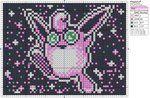 Pokemon - Wigglytuff by Makibird-Stitching