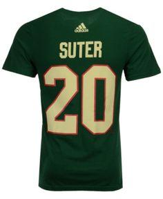 adidas Men Ryan Suter Minnesota Wild Silver Player T-Shirt 97814bcbf