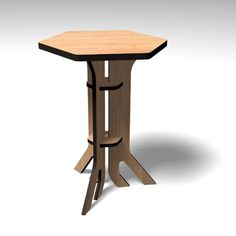 free plans for cardboard table