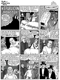 Cartoon: The Republican Monster turns on its creator